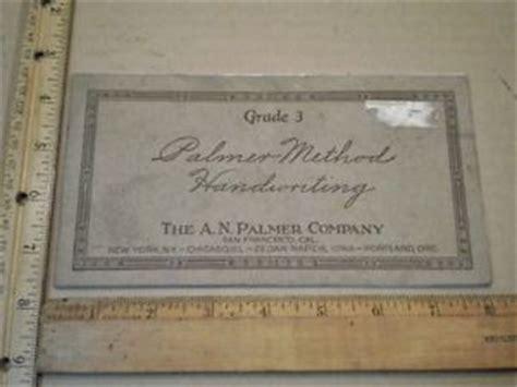 Vintage Palmer Method Handwriting Grade 3 Cursive Pamphlet Chicago Cedar Rapids Ebay