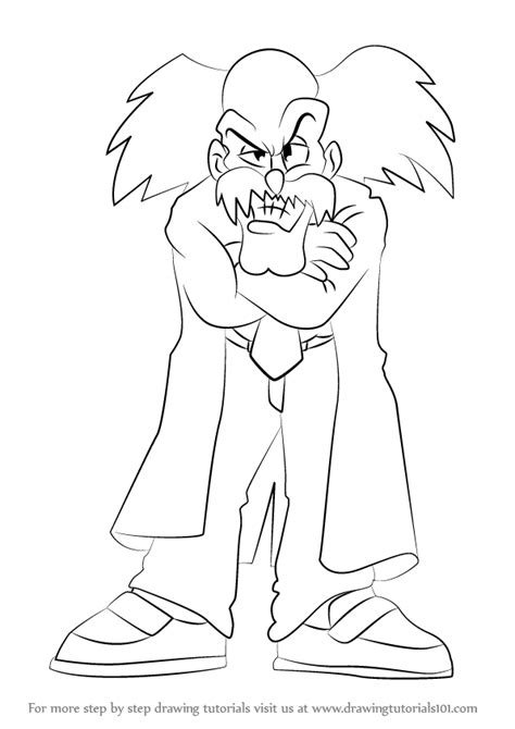 learn   draw dr wily  mega man mega man step