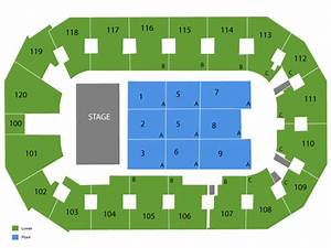 Silverstein Eye Centers Arena Seating Chart Events In