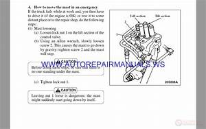Cat Service Manual Ep Ep20kt