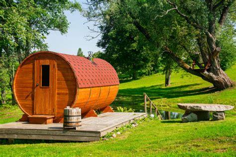 Die Fasssauna Fürs Saunavergnügen Im Garten
