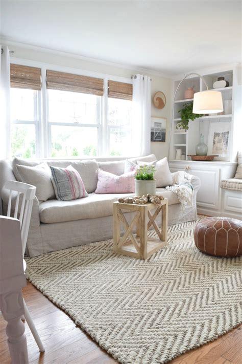 jute rug review   living room nesting  grace
