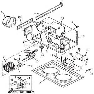 broan 164 parts list and diagram ereplacementparts com