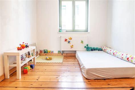 Kinderzimmer Mädchen Montessori by Montessori Baby Kinderzimmer Ab 10 Monaten The Krauts