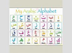 Arabic Letters for Children Learning Printable