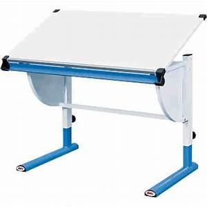 Schreibtisch Höhenverstellbar Weiß : schreibtisch h henverstellbar wei blau mytoys ~ Markanthonyermac.com Haus und Dekorationen