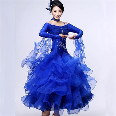 2015 ballroom dress dew shoulder costume sleeve gourd 10 color