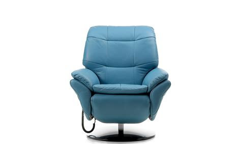 1e Electric Recliner Armchair In Leather