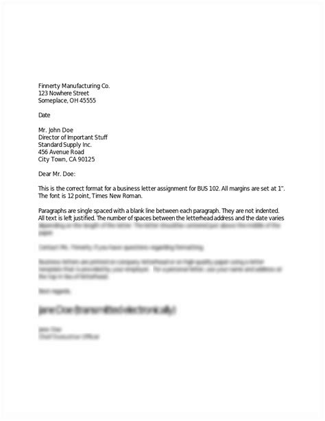 business letter format scholastic sample business letter