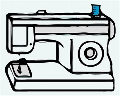 Sewing Machine Clip Clipart Clker