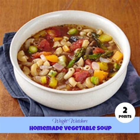 weight watchers homemade soup recipe