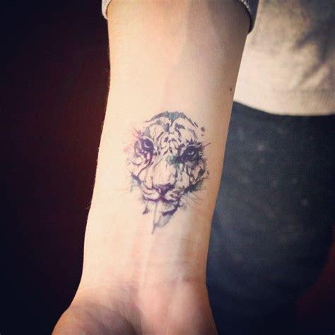 watercolor tiger tattoos tatouage tatouage tigre