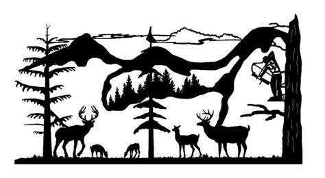 Almost files can be used for commercial. 339 best images about * Deer Hunting Silhouettes, Vectors ...
