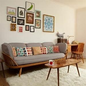 deco salon noir blanc rose With tapis d entrée avec coussin de luxe pour canapé