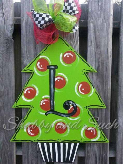 how to make a christmas door hanging on youtube door hanger tree door hanging door decor x large