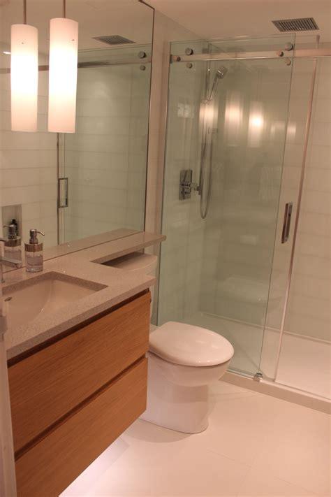 condo bathroom renovation modern beautiful  compact