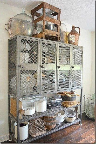 vintage kitchen storage industrial chic repurposing ideas kitchen 3227