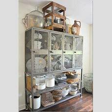 Industrial Chic!  Repurposing Ideas {kitchen}  Pinterest