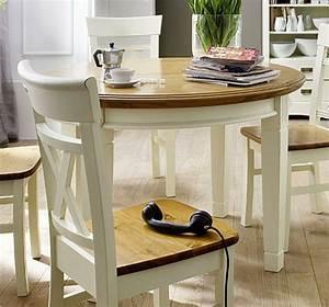 Weißer Esstisch Mit Stühlen : esstisch im vintage stil richtiger eyecatcher ~ Markanthonyermac.com Haus und Dekorationen