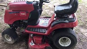 Riding Mower Deck Belt Change Toro Lx460
