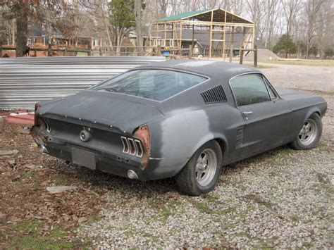 67 Mustang Fastback Project Car For Sale