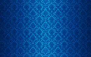 Classic Blue Pattern Wallpaper