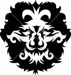 Fashion Lion Crest | Production Ready Artwork for T-Shirt ...