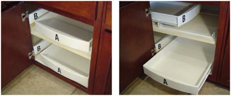 corner cabinet access solutions blind corner shelf