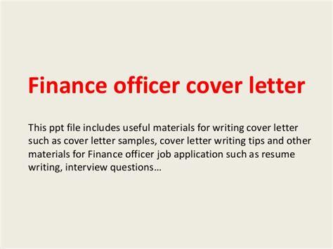 finance officer cover letter finance officer cover letter
