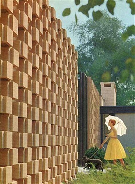 modern mid century decorative concrete blocks modern