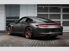 TopCar develops carbon fibre widebody kit for 991 Porsche