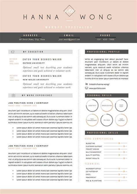 Resume Creation Website by Resume Template Cv Template Cover Letter References