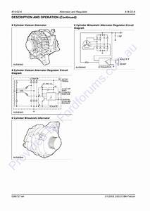 Ford Alternator Regulator Wiring Diagram