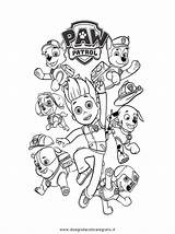 Paw Patrol Coloring Ryder Face Printable Colouring sketch template