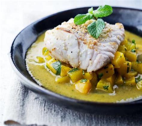cuisiner dos cabillaud recette dos de cabillaud aux pêches 750g