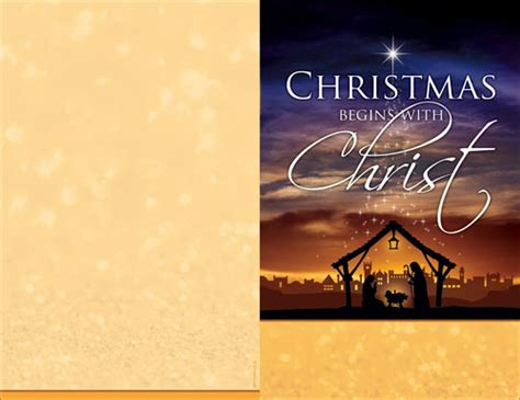 christmas begins christ bulletin church bulletins