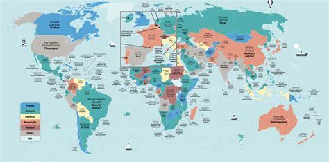 Carte Des Grandes Villes Du Monde by Cette Carte Montre Les Traductions Litt 233 Rales Des Noms Des