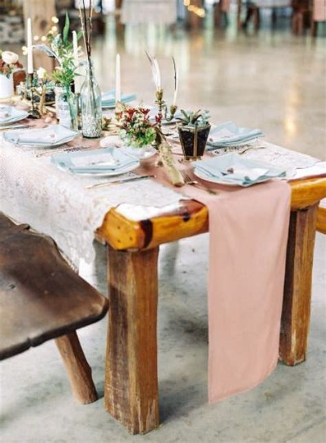 boho chic table ls 40 boho chic wedding table settings to get inspired