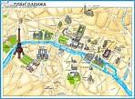 Paris Map Tourist Attractions - TravelsFinders.Com