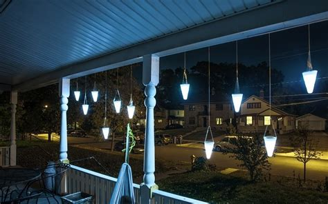 hanging solar garden light gadgets matrix