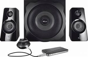 Pc Lautsprecher Bluetooth : 2 1 pc lautsprecher bluetooth kabellos trust tytan 60 w schwarz ~ Watch28wear.com Haus und Dekorationen