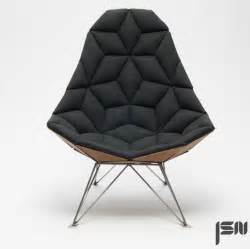 designer chair jsn design assembles shaped tiles into chair
