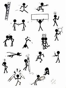 27 Best Images About Stick Figures On Pinterest