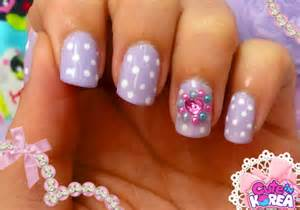 Cute korean nail art designs ideas