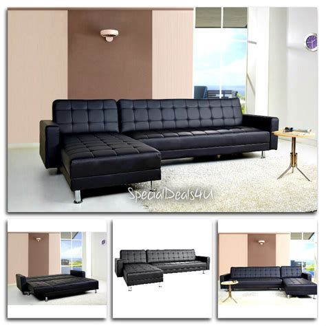 Leather Sectional Sleeper Sofa Recliner by Leather Sectional Sofa Bed Sleeper Modern Furniture