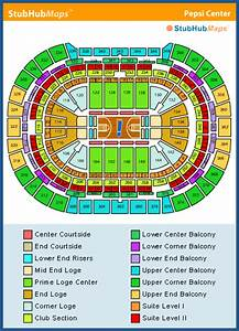Pepsi Center Seating Chart Pictures Directions And