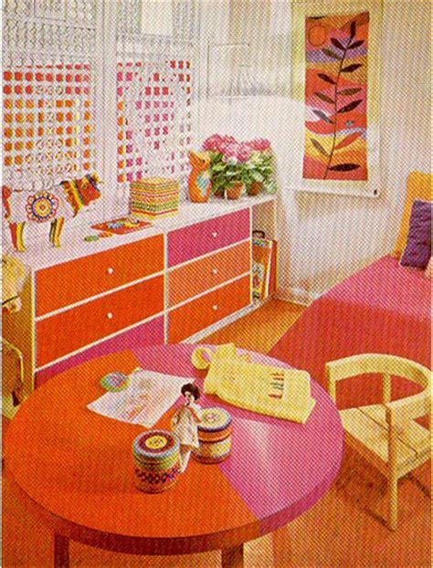 Pink & Orange Room
