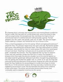 math workbooks for 2nd grade story of the frog prince worksheet education