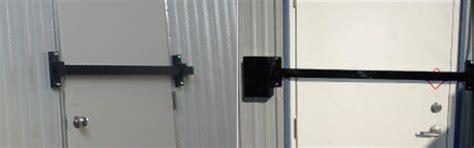 door bar lock crossbar door lock evergreen hatch works