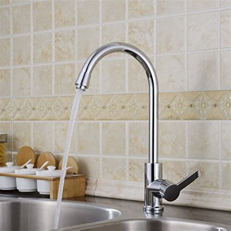 levier de cuisine auralum moderne levier unique robinets de cuisine robinet